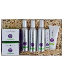 Lotes Sensolive - Cesta de cremas y aceites de masaje