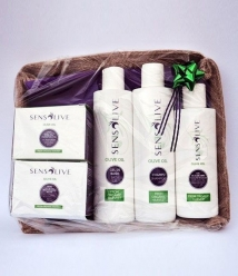 Sensolive Batch - Creams, Aloe Vera gel and eye contour, shampoo y Shower gel.