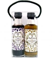 Baeturia Morisca Duo Aceite de Oliva más vinagre de Jerez - 2 Botellas de Vidrio