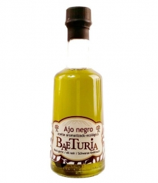 Aceite Baeturia Aromatizado Ajo Negro de 250 ml - Botella de Vidrio 250 ml.