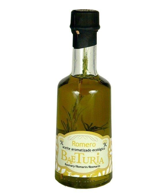 Aceite Baeturia aromatizado Romero - 250 ml.