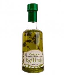 Aceite Baeturia aromátizado Orégano - 250 ml.