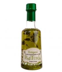 Aceite Baeturia Aromátizado Orégano de 250 ml - Botella de Vidrio 250 ml.