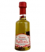 Oil Baeturia flavored Spicy in bottle of 250 ml