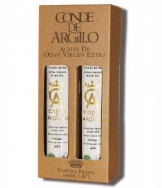 Conde de Argillo de 250 ml- Estuche regalo 2 unidades de vidrio 250 ml.