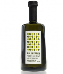 L'Oli Ferrer Arbequina - Bouteille verre 500 ml.