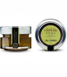L'Oli Ferrer Extra Virgin Olive Oil Caviar - Glass jar of 50 gr.