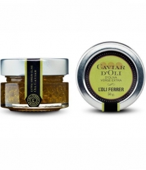 L'Oli Ferrer Caviar d'Huile d'Olive Vierge Extra - Pot en verre de 50 gr