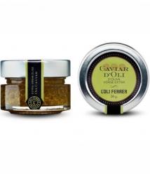 L'Oli Ferrer Extra Virgin Olive Oil Caviar - Glass jar of 50 gr