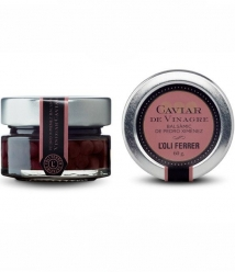 L'Oli Ferrer Balsamic vinegar Caviar - Glass jar of 60 gr.