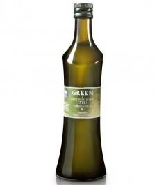 Green - Glass bottle 500 ml.