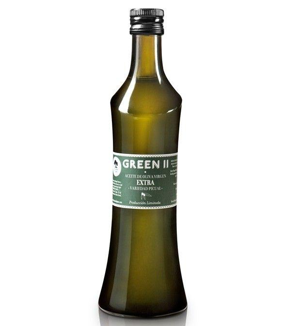 Green II - botella vidrio 500 ml.