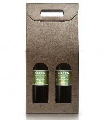 Green - estuche 2 botellas vidrio 500 ml.