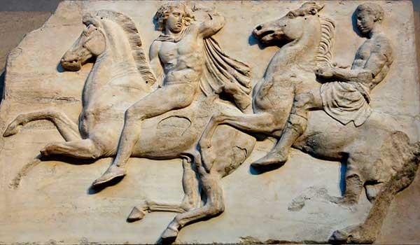 Caballeria friso del Partenon - Museo Británico