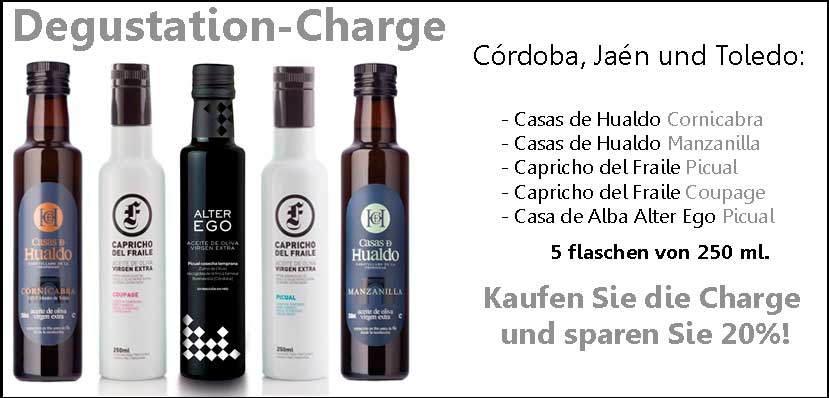 Degustation charge 250 ml