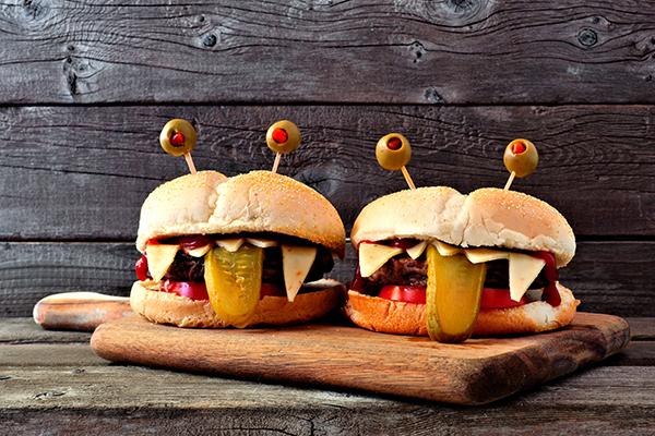 hamburguesas con aceite de oliva
