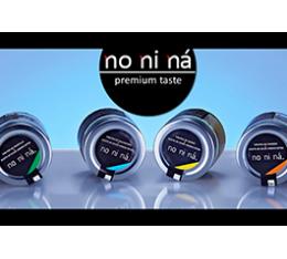 No Ni Ná, Innovation in Gläsern
