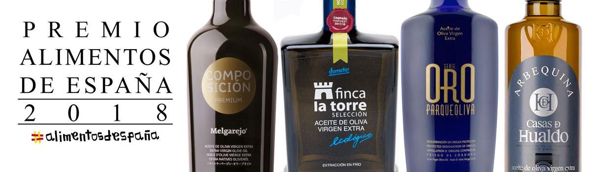 comprar Mejores Aceites de Oliva Virgen Extra de España 2018