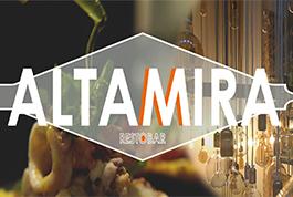 ALTAMIRA, un restaurante que cocina con nuestro AOVE