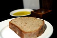 Tostada de pan con aceite